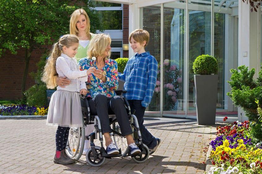 caring for elderly parent